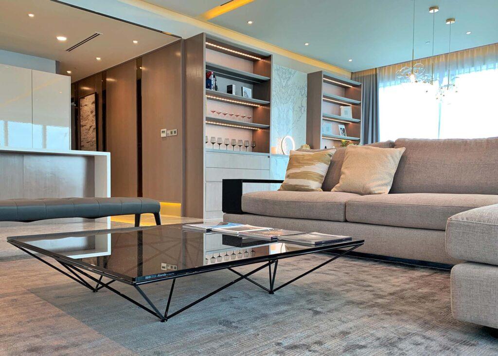 Residence FS 49 3a Living BB Italia coffee table 1