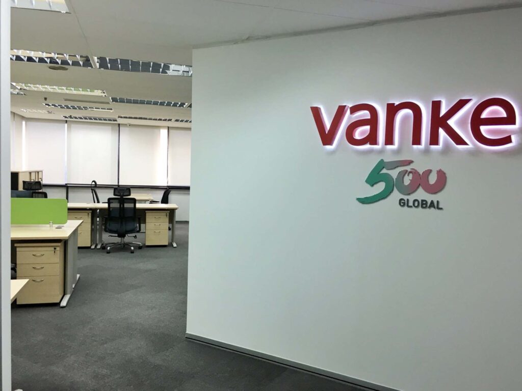 office vanke signage